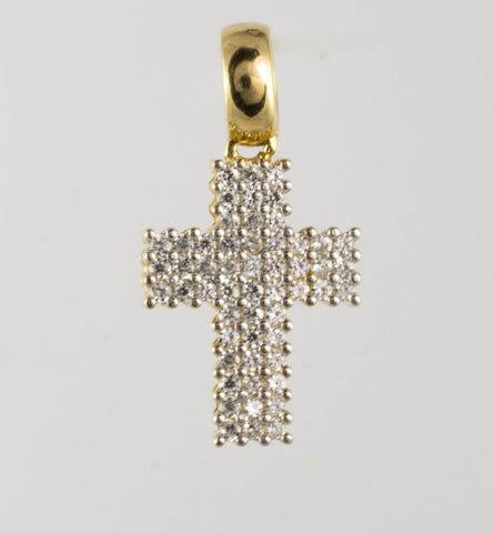 14 Kt Yellow Gold Ladies' Cross