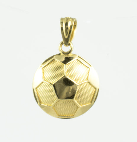 10 Kt Yellow Gold Soccer Ball