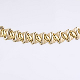 14 Kt Yellow Gold Italian 2 Piece Set