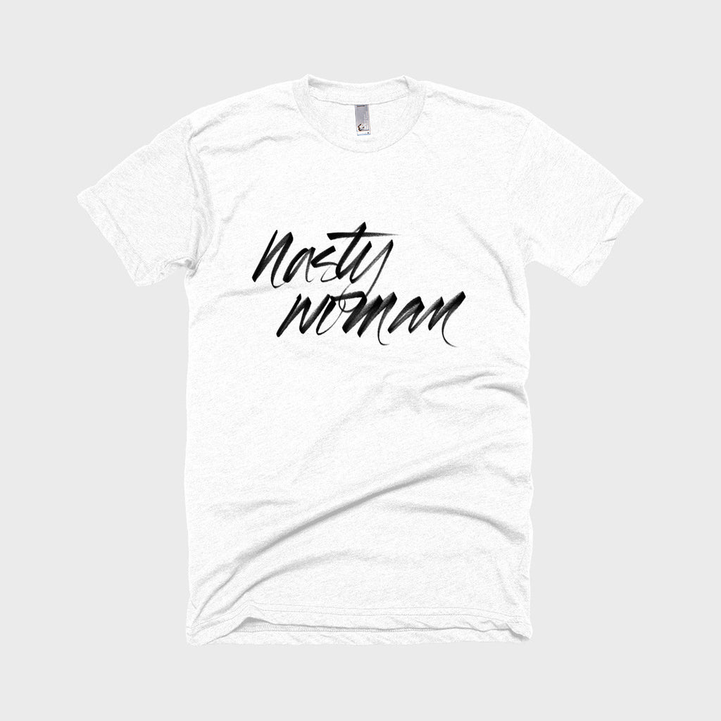Nasty Woman Tee (White)