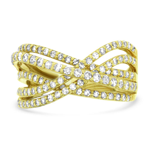 Diamond Yellow Gold Fashion Ring