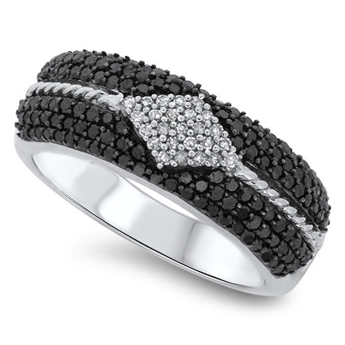 Diamond Shaped Fashion Ring