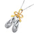 Ballet Slipper Diamond Pendant