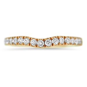 Diamond Curved Band