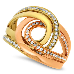 Two-Tone Fashion Diamond Ring