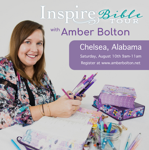 Inspire Bible TOUR--Chelsea, Alabama