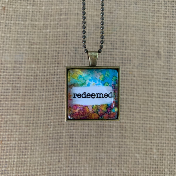 """Redeemed"" Necklace"