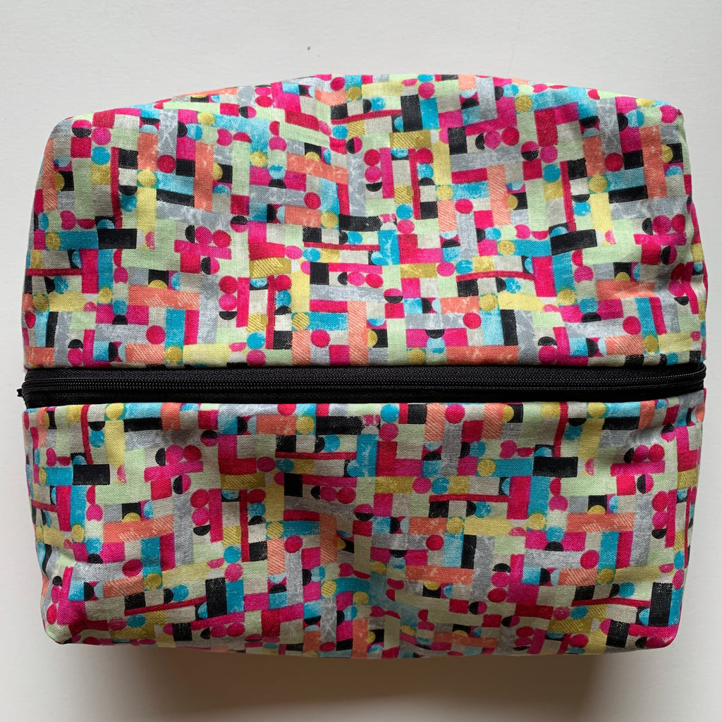 All the Colors Zipper Bag