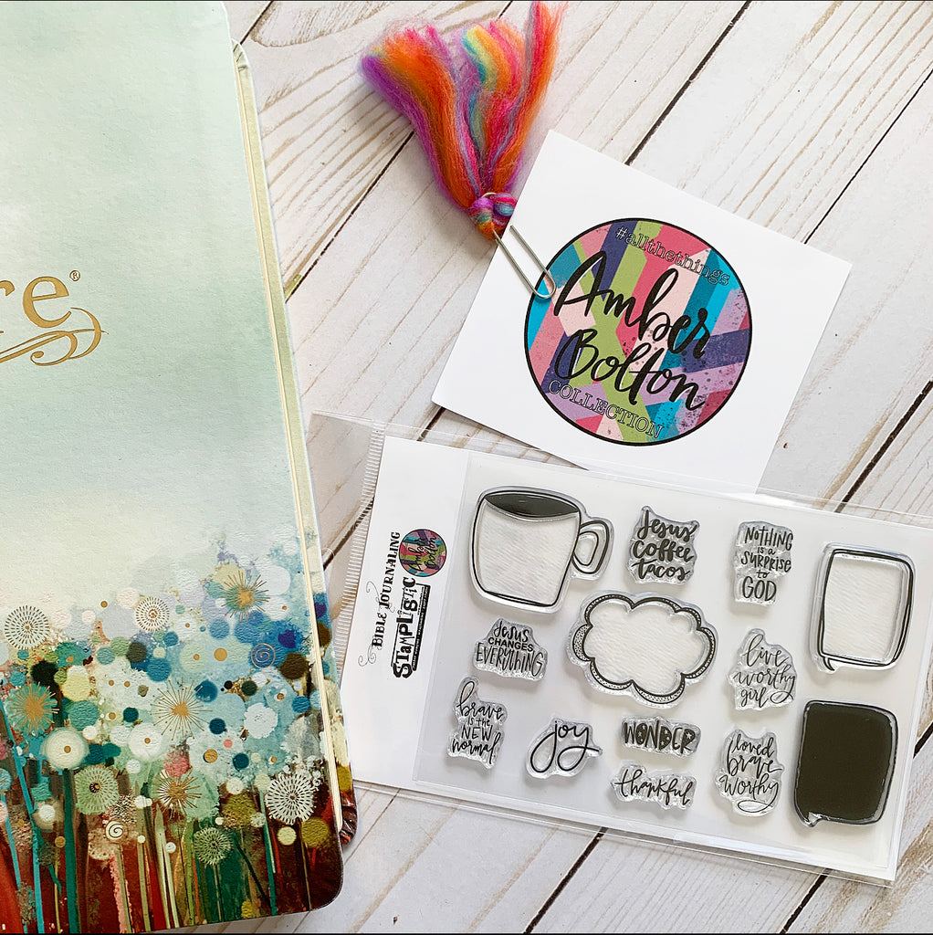 "#allthethings ""My Mantra"" Stamp Set"