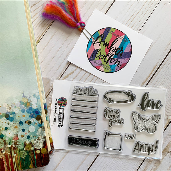 "#allthethings ""Grace Note"" Stamp Set"