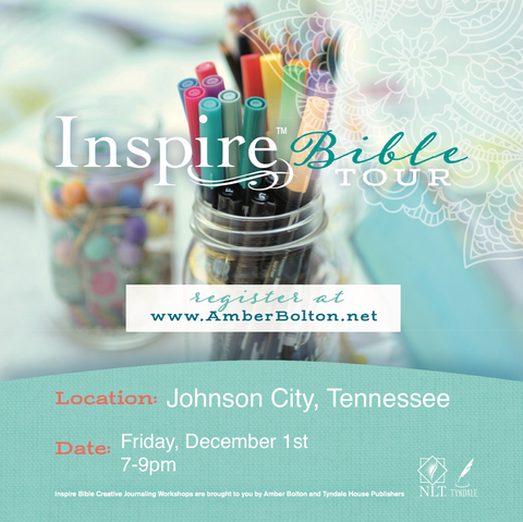 Inspire Bible TOUR--JOHNSON CITY, TENNESSEE