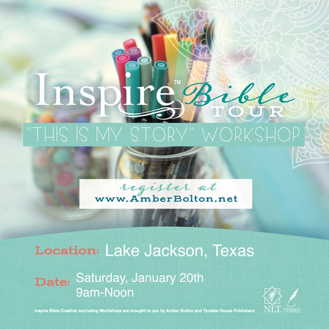 Inspire Bible TOUR--Lake Jackson, Texas