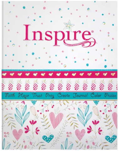 Inspire Girls Bible NLT: Paperback