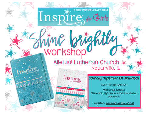 Inspire Bible TOUR--Naperville, Illinois