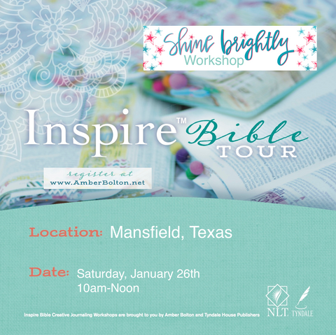 Inspire Bible TOUR--Mansfield, Texas