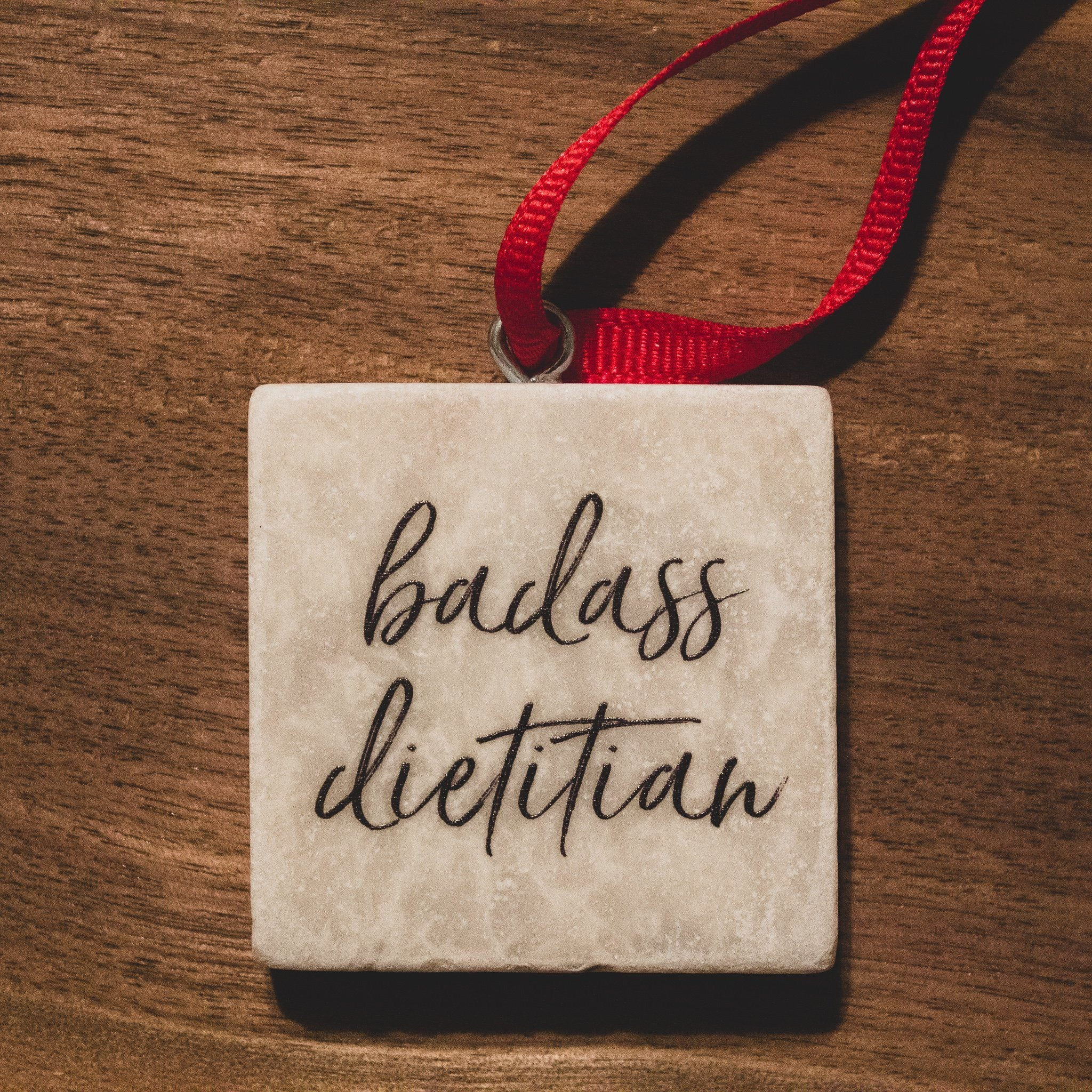 Badass Dietitian Ornament | Dietitian Gift