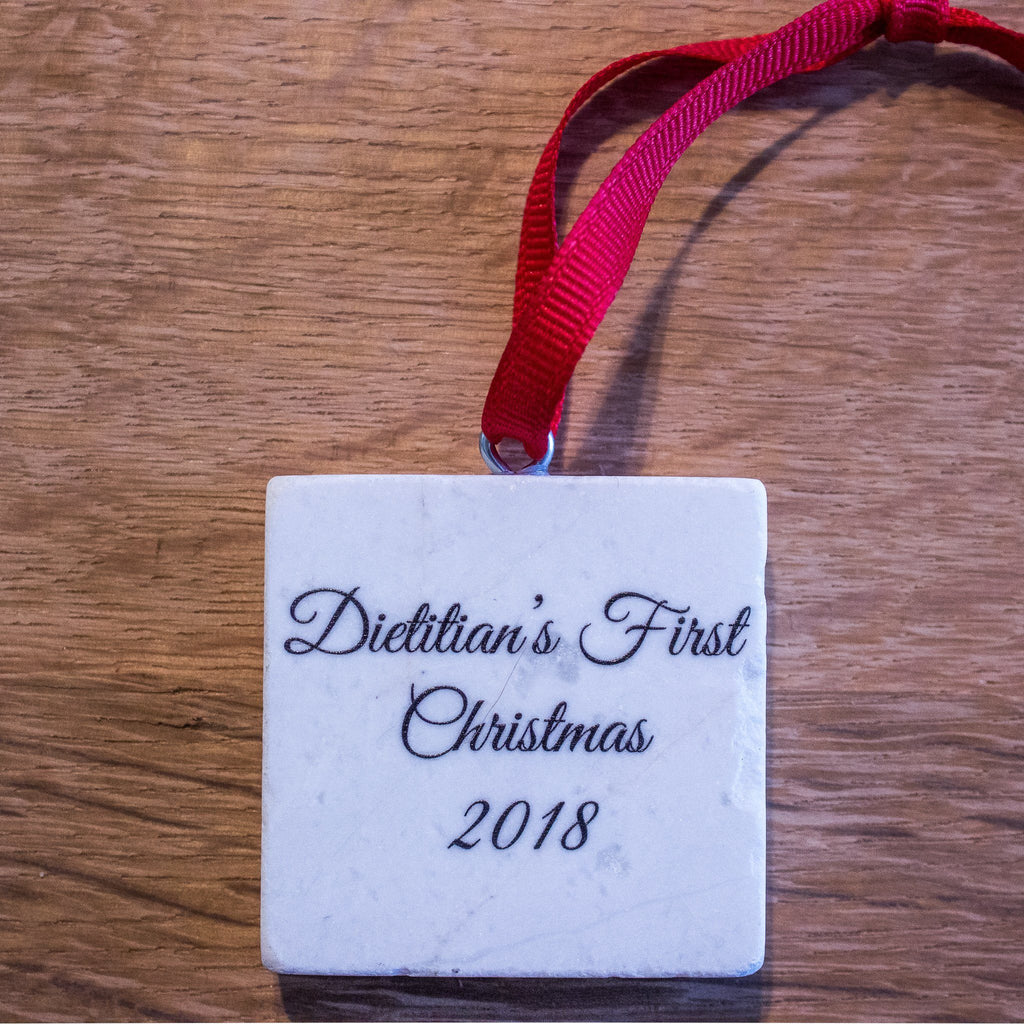 Dietitians First Christmas 2018 Ornament | Dietitian Gift