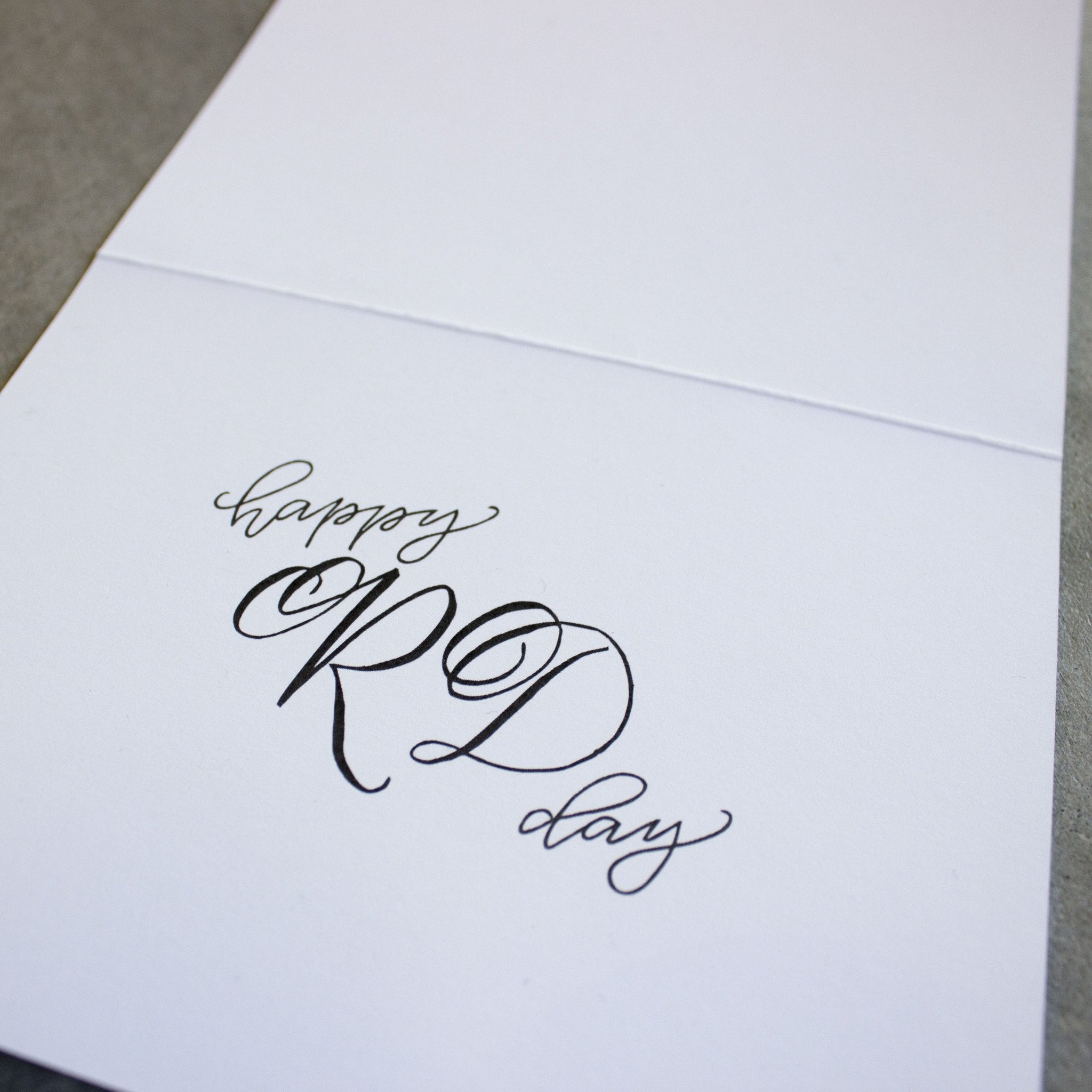 RD Day Handmade Greeting Card | RD Day | Dietitian Card
