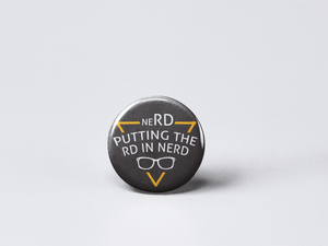 neRD Putting The RD in Nerd | Dietitian Gift | Dietitian Button