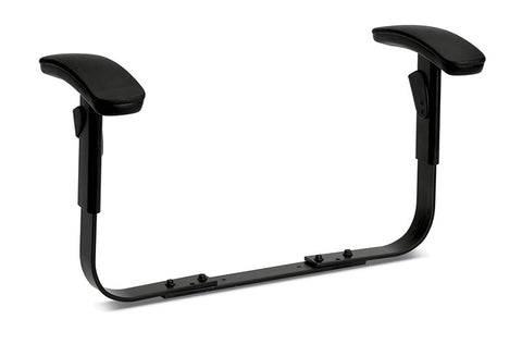 HON ComforTask Adjustable Arms | Black Finish