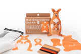 Kangaroo - Embroidery Kit