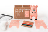 Pig - Embroidery Kit