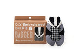 Badger - Embroidery Kit