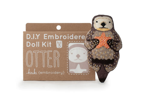 Otter - Embroidery Kit