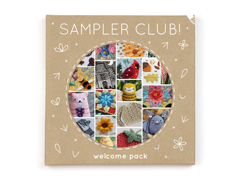 Sampler Club Welcome Pack