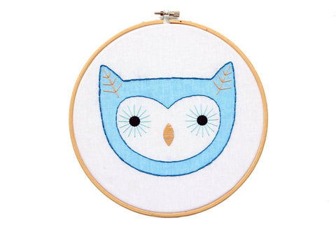 Owlet - Hoop Art Kit