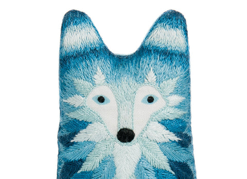 Wolf - Embroidery Kit