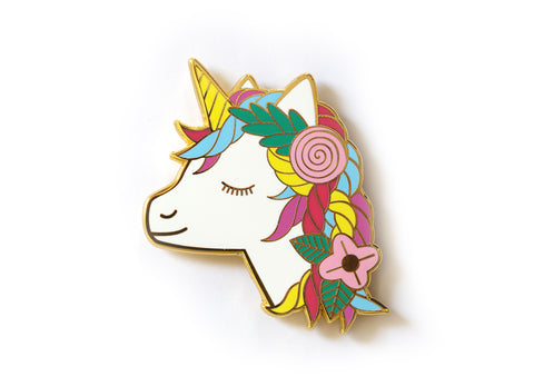 Unicorn - Magnetic Needleminder (enamel)