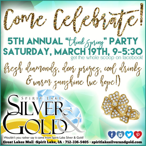 think spring at spirit lake silver & gold