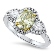 Load image into Gallery viewer, Yellow Diamond Ring