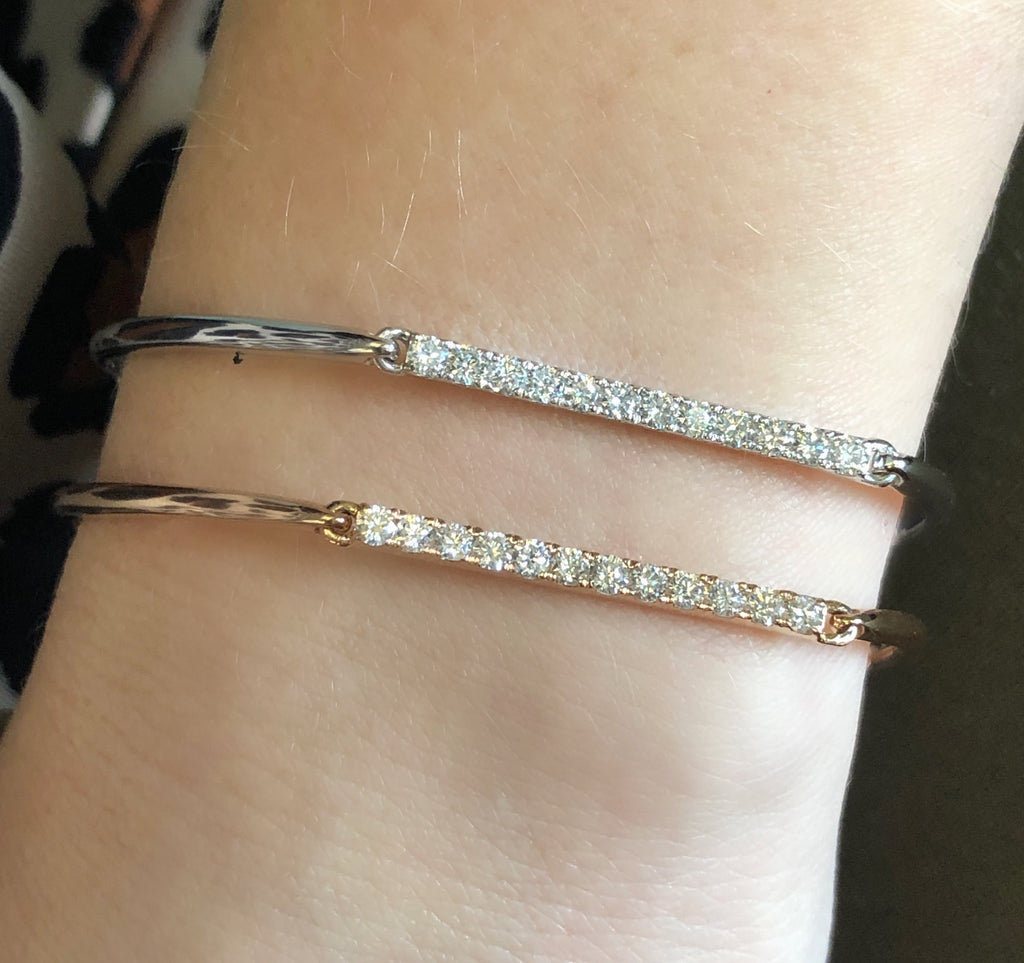 1/2ct Total Weight Diamond Bracelet