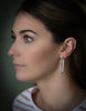 3.99ct Diamond Hoop Earrings