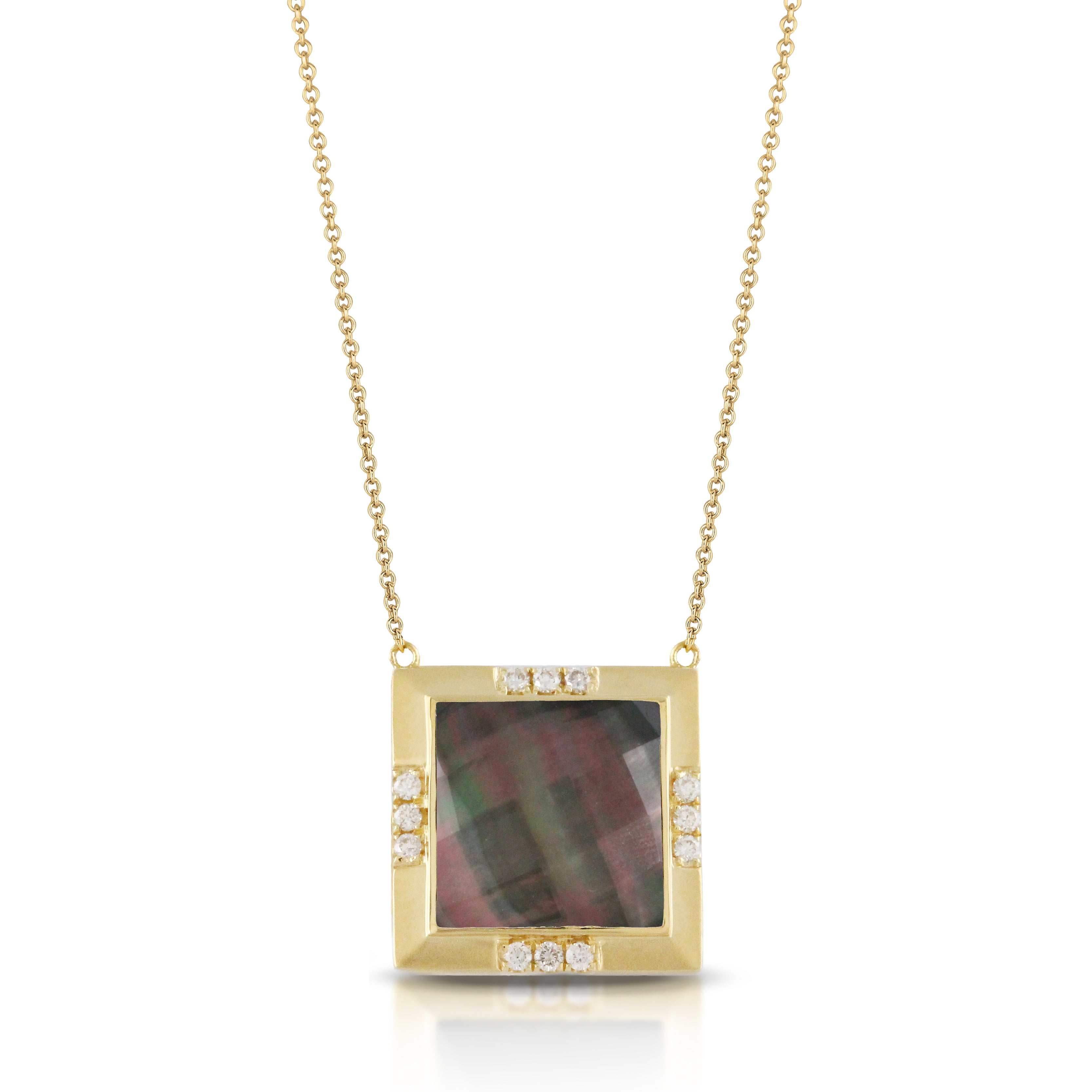 Mother of Pearl with Quatrz Necklace