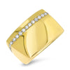 Bold Yellow Gold Fashion Ring
