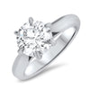 2.28ct Round Solitaire Diamond Ring