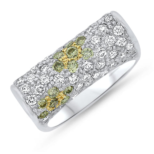 Yellow Diamond Fashion Ring