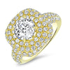 1.37ct Round Brillant Cut Diamond Ring