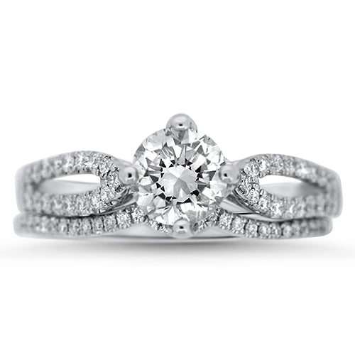 ee7f20f651ea62 Yours Forever Diamond Wedding Set | Spirit Lake Silver and Gold