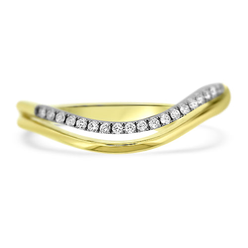 Yellow Gold Stacker Band