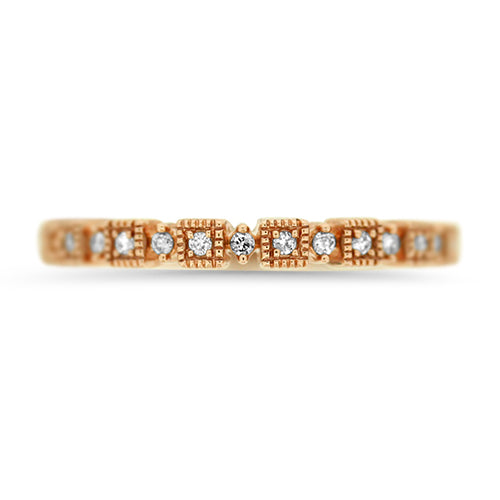 Rose Gold Stacker Band