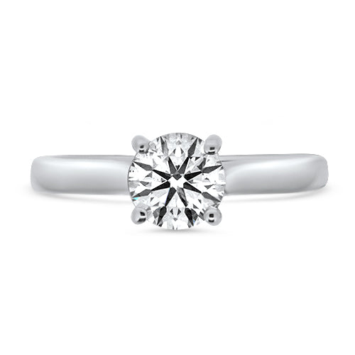 Round Brilliant Cut Solitaire Ring
