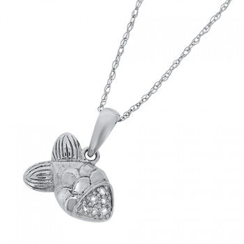 Diamond Fish Pendant