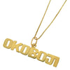 Yellow Gold Okoboji Pendant