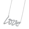 L-O-V-E Diamond Necklace