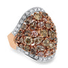 Precisely Set Diamond Fashion Ring