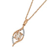 Diamond & Morganite Pendant